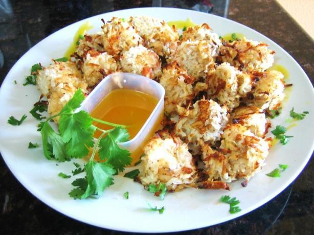 Low Fat Coconut Shrimp 9