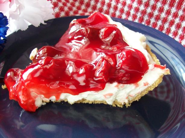Easy Cherry or Blueberry Cream Pie (No-Bake). Photo by Chef ...