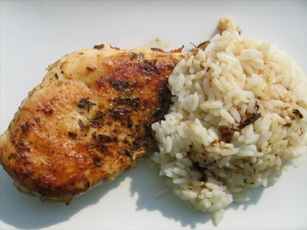 Caribbean Chicken. Photo by Marlene.