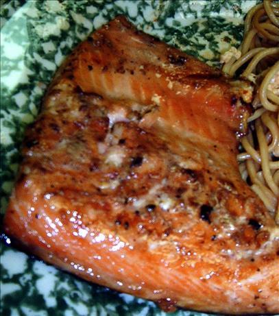 Honey Teriyaki Salmon. Photo by MsSally