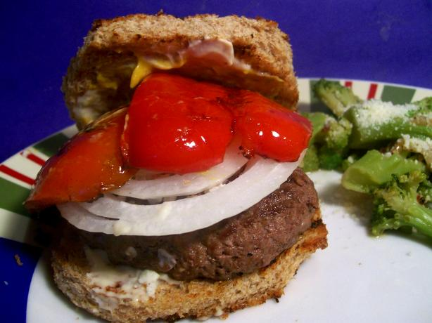 Red, White And Blue Burgers Recipe - Red.Food.com
