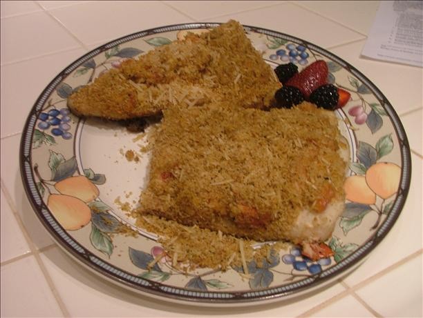 Grilled Halibut With Lemon-Herb Crust. Photo by Chef #461801
