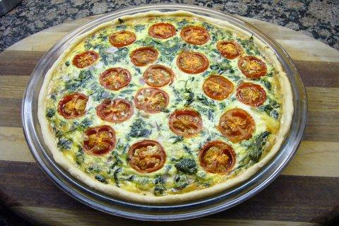 Quick n Easy Quiche Crust. Photo by goodlife