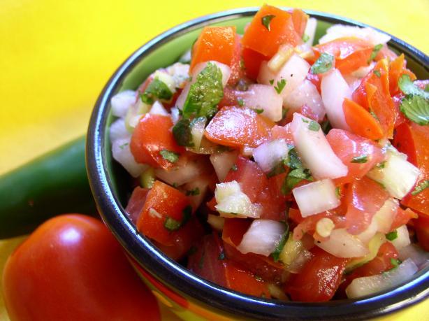 Salsa Fresca. Photo by Bayhill