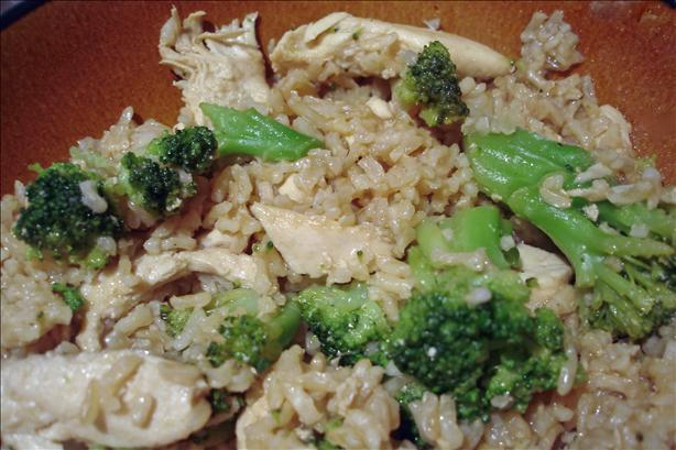 Teriyaki Chicken and Brown Rice. Photo by Chef Mommie
