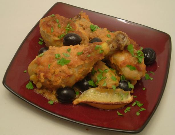 Moroccan chicken recipe - Moroccan cuisine recipes ...
