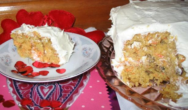 Easy Cake Mix Carrot Pineapple Cake Recipe Food Com