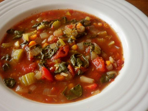 tuscan white bean and roasted garlic soup crock pot recipe red ...
