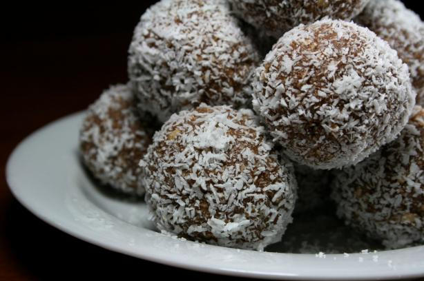 Coconut Chocolate Truffles Recipe Food Com