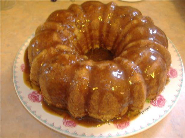 Diane's Fresh Apple Cake With Caramel Glaze. Photo by vivmom