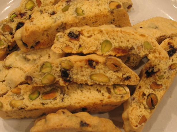 Cranberry Pistachio Biscotti. Photo by Chicagoland Chef du Jour
