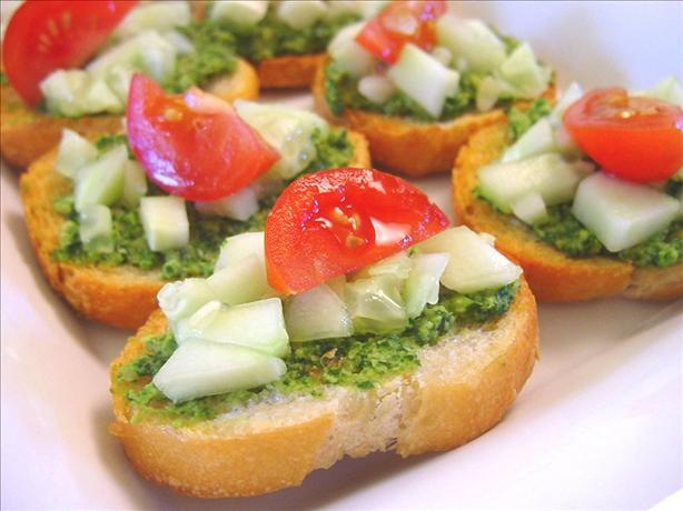 Cilantro canapes recipe for Canape receipes