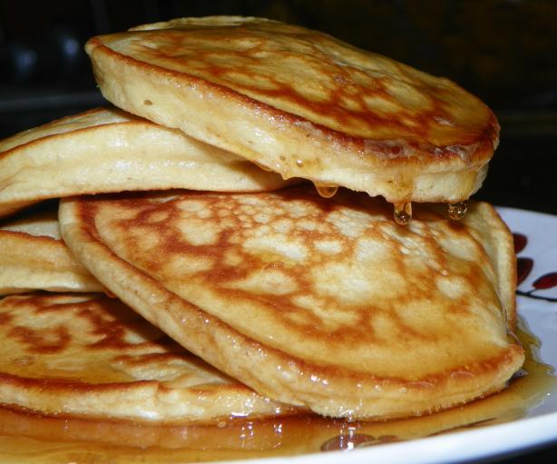 Eggnog Pancakes. Photo by Baby Kato