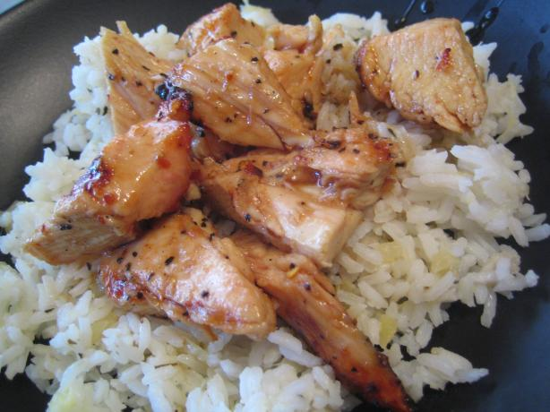 Sticky Coconut Chicken With Chili Glaze And Coconut Rice Recipe - Food ...