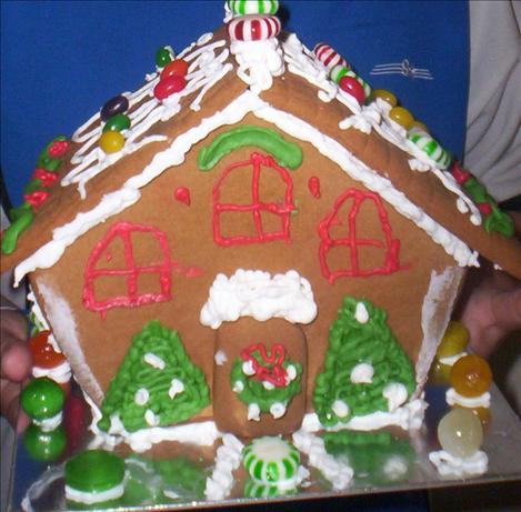 gingerbread house dough and icing recipe. Black Bedroom Furniture Sets. Home Design Ideas