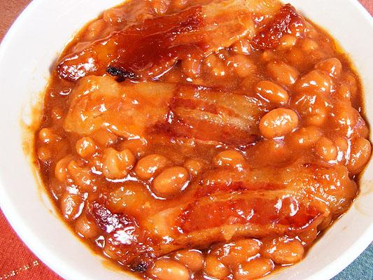 Easy Baked Beans. Photo by Lavender Lynn