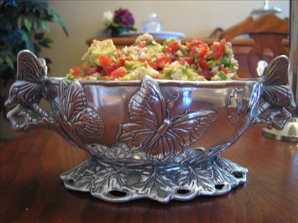Avocado and Feta Salsa. Photo by Mamma Bug