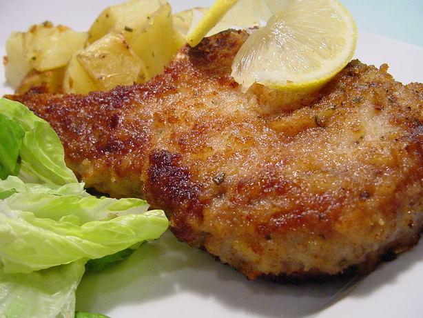Parmesan Sage Pork Chops. Photo by Sharlene~W