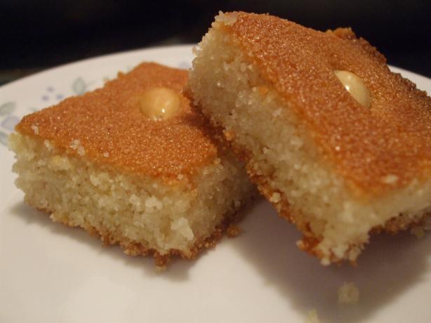 Harissa Harisa Haresa Arabic Semolina Cake Recipe Food Com