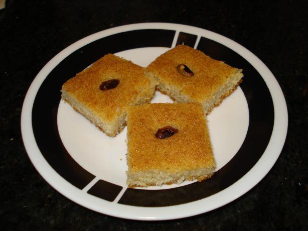 Harissa Semolina Cake