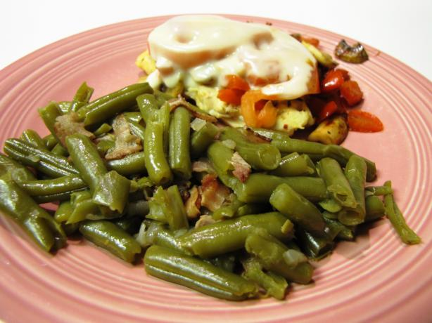 Southern Green Beans And Bacon Recipe - Food.com