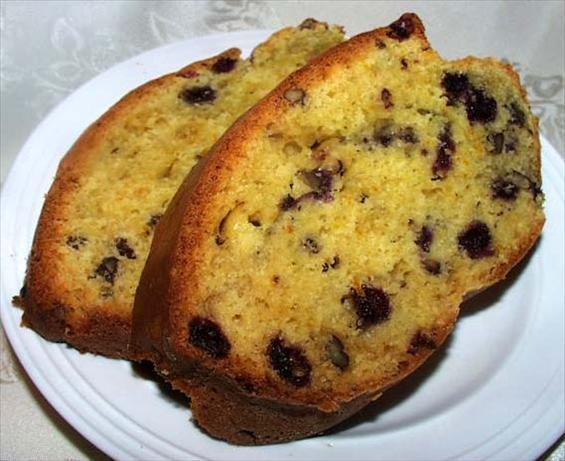 Blueberry-Orange Nut Bread. Photo by twissis