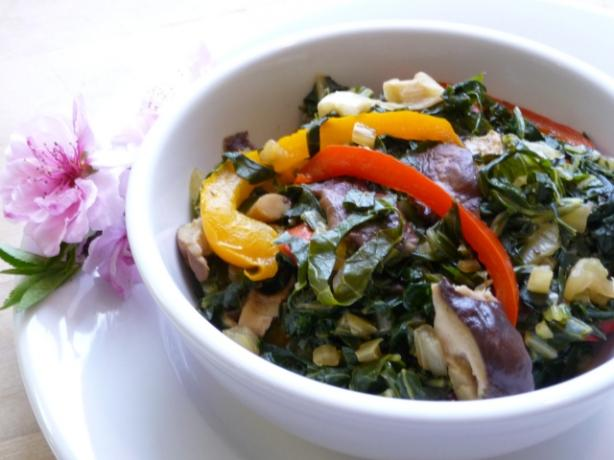 Swiss Chard Stir Fry Recipe - Food.com