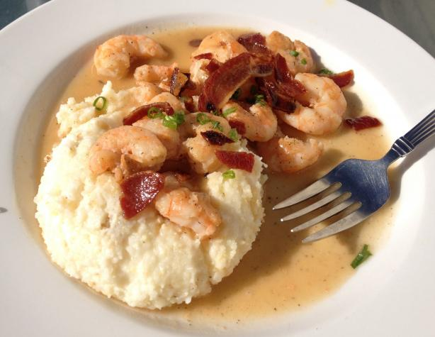 Charleston Shrimp and Grits. Photo by Kristine at Food.com