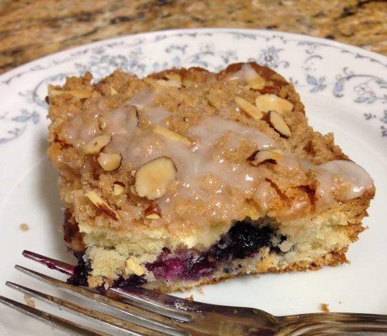 The Absolute Best Moist Buttery Blueberry Coffee Cake Recipe - Food ...