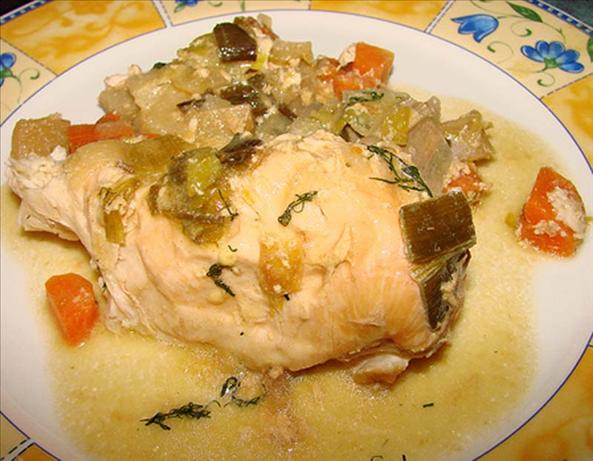Chicken & Vegetables With Creamy Mustard-Herb Sauce ( Crock. Photo by ...