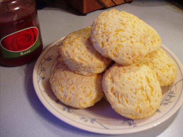Golden Cheddar Cheese Scones. Photo by Midwest Maven