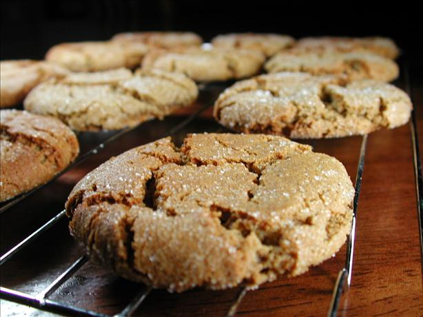 Soft, Spicy, Heavenly Ginger Cookies. Photo by Chef floWer
