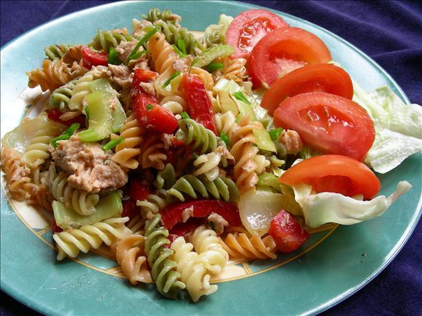 Salmon Pasta Salad. Photo by kiwidutch
