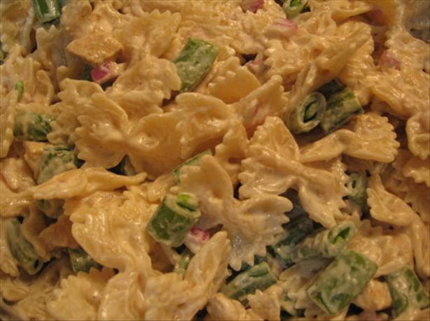 Curry Chicken Pasta Salad. Photo by Engrossed
