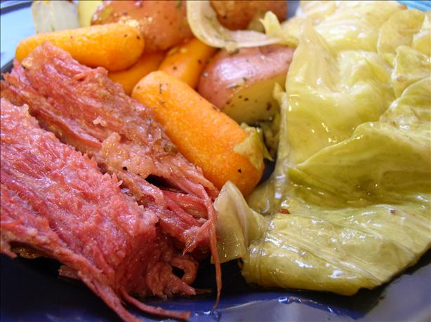 Slow Cooker Corned Beef and Cabbage. Photo by Bayhill