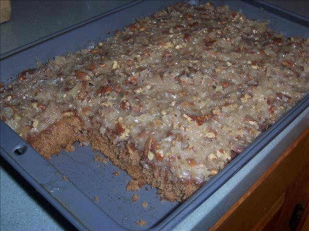 ... Oatmeal Cake With Coconut Pecan Frosting. Photo by Hill Family