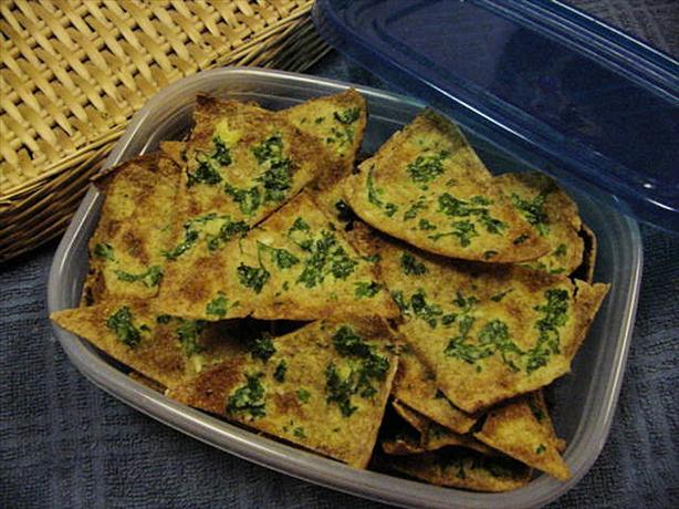 Garlic Pita Chips. Photo by jonesies