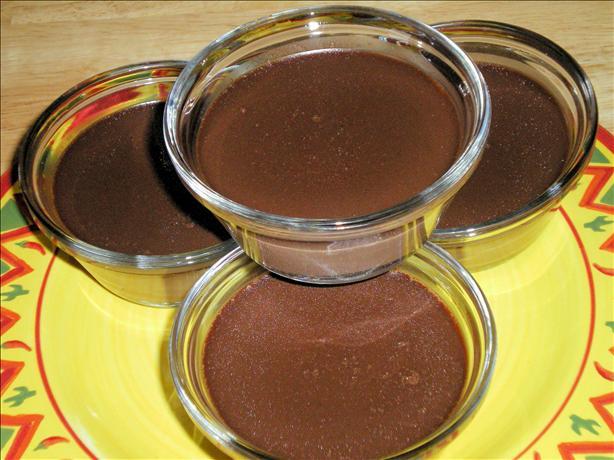 Mexican Chocolate Pots De Creme. Photo by Julie B's Hive
