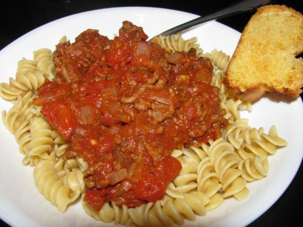 All Purpose Quick Spaghetti Sauce. Photo by read2mch
