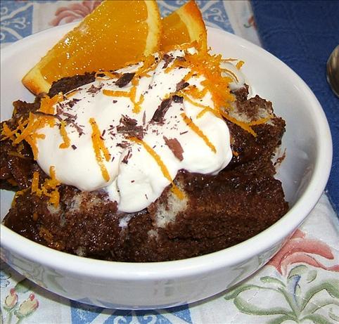 Chocolate Orange Soufflé Bread Pudding. Photo by Kathy228