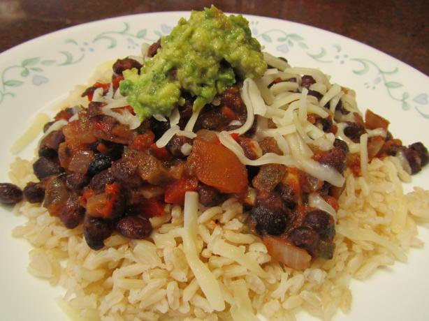 Quick And Easy Black Beans And Rice Recipe — Dishmaps