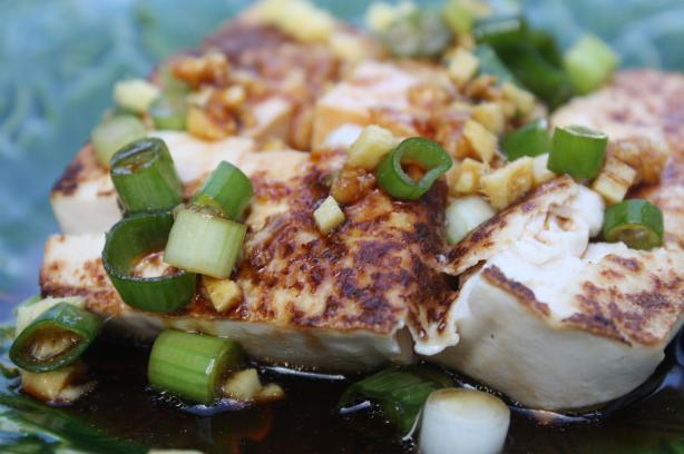 Asian Crispy Tofu Salad. Photo by Leggy Peggy