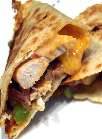 Cheesy Chicken Fajita Quesadillas Recipe - Food.com