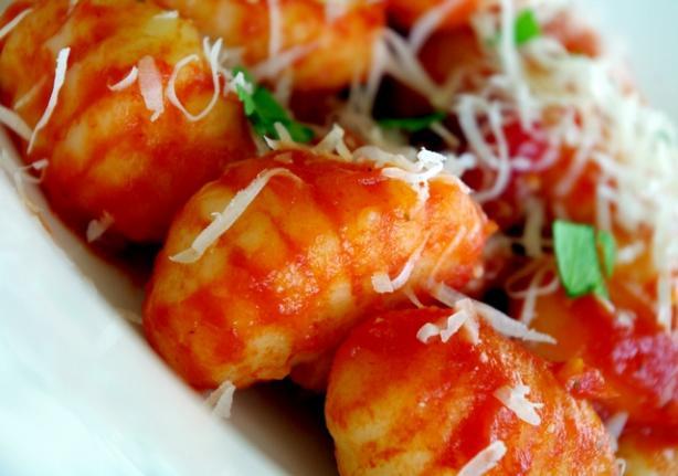 Potato Gnocchi. Photo by AmandaInOz