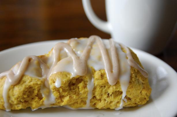 Starbucks Pumpkin Scones. Photo by run for your life