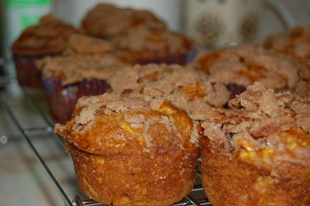 Pumpkin Apple Streusel Muffins Recipes — Dishmaps