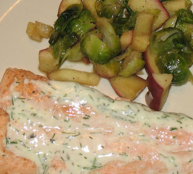 Lemon dill sauce for fish recipe for Dill sauce for fish
