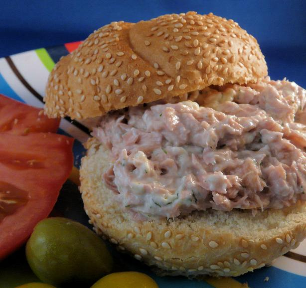 dill tuna fish sandwich recipe
