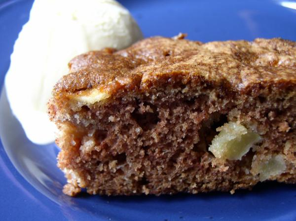 Grammie Bea's Chopped Apple Cake. Photo by Bayhill
