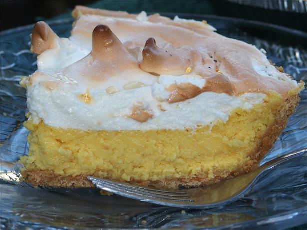 Easy Enough Creamy Lemon Meringue Pie. Photo by Marsha D.